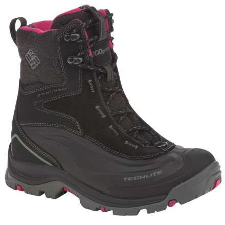 Thanks to its warmth-reflecting lining, the Columbia Women's Bugaboot Plus Boot requires less insulation to keep your feet toasty warm. Add a waterproof leather-and-Techlite upper, and you have a super solid winter boot that won't leave you hanging when the going gets wet, deep, or freezing cold. - $71.97