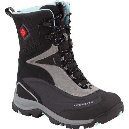 Frozen feet are a fun-killer, but the ridiculously warm Columbia Women's Bugaboot Plus Electric Boot will never be a party-pooper. With a three-temperature heating system, a burly, moisture-managing, waterproof upper, and a lugged sole that adapts to the weather for sure anytime grip, this boot will go on long outings in wet, subzero weather... from a tromp in snowy woods to a frigid day on the hill watching the munchkins race or hitting the town when the temps drop and crowds vanish. - $149.97