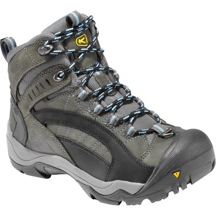 No need to stay bundled up inside all winter when you have the KEEN Women's Revel Boots just itching to get outside. KEEN combines its KEEN.Warm Trapolater insulation underfoot with 200g KEEN.WARM insulation to give you super-warm boots that keep your feet plenty cush in frigid temperatures. So grab your puffy and get cracking on shoveling the walk, taking your pouch for a stroll, or eating some delicious dinner at your local bistro. - $69.98