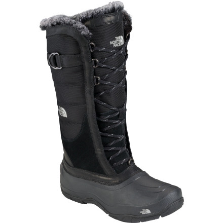 It's not easy being The North Face Women's Shellista Lace Boots. These boots takes their job of protecting your feet from the cold and wet quite seriously ... plus they have to look good at all times of the day. But for you, it'll do anything. - $89.97