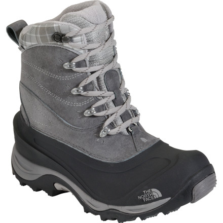 Ski What's a non-skier to do on a mountain vacation' While the rest of the family skis the slopes, how about lacing up The North Face Women's Chillkat II Boot, renting some snowshoes, and hitting the trails' This all-purpose winter boot features a waterproof leather and TPR shell, as well as 200g PrimaLoft Eco insulation, to keep you dry and warm in temperatures down to-25 degrees Fahrenheit. The Chillkat II is also stylish enough to wear straight from the trails to the ski village, where you can traipse from store to store through the snow, doing damage with your credit card. - $79.96