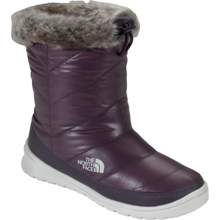 The North Face Skylla WP Boots are a mix of your waterproof rain galoshes, your grippy snowshoes, and your cozy winter slippers. - $65.97