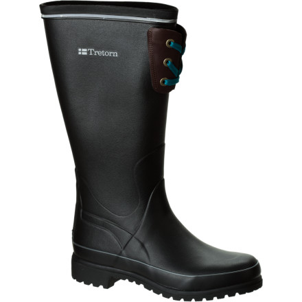 Maybe you have to brave torrential rain and sleet to get to work. Or maybe, you just really, really like jumping in puddles. Either way, the Tretorn Women's Staika Boots keep water out so you can do what you have to do without getting wet feet, and the sleek Swedish style keeps you looking good, too. - $53.97