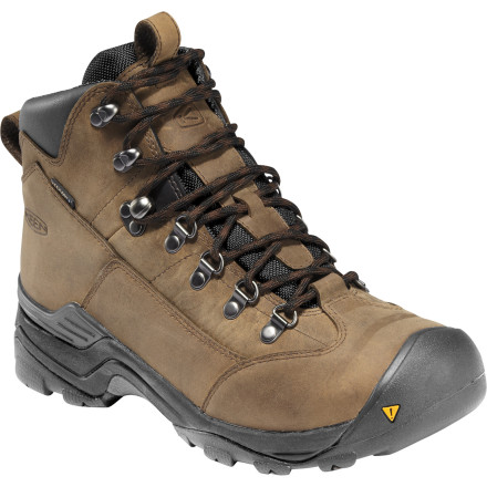 Camp and Hike Long-distance treks call for a substantial shoe, and the KEEN Women's Glarus Hiking Boot fits the bill. A traditional full-grain upper, waterproof breathable membrane, advanced cushioning and a rugged outsole hit every feature on your must-have list as you search for the ideal boot for your upcoming two-week trek in the Alps. - $159.95