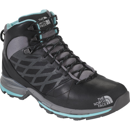 Camp and Hike There are three Havoc Shoes, and The North Face Women's Havoc Mid GTX XCR Shoe is the tallest of them all. A waterproof breathable membrane protects your toes from the weather while the rest of this shoe handles technical terrain like a champ. Underneath your foot, a plate protects the forefoot, a Vibram sole grips loose terrain on ascents, and a mid-height cuff wraps around your ankle for support. Believe in the tallest of the Havoc Shoes and you will successfully climb mountains with the most steadfast footing. - $159.95