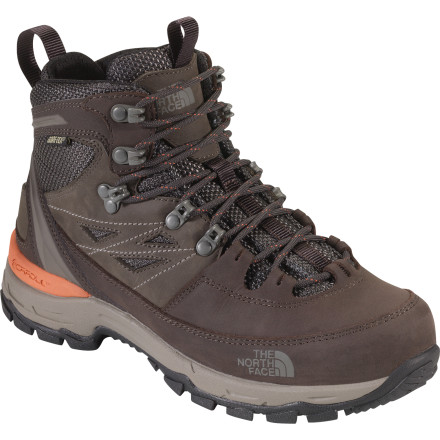 Camp and Hike The North Face Women's Verbera Hiker GTX Boot was born from the minds of athletes who recognized a need for a lightweight, fully featured hiking boot focused on technical terrain. Burly backpacking boots make sense on long-haul treks, but for those early-morning summit pushes through weather and up to 10,000 feet, it's nice to have something a little more nimble on your feet. Enter the Verbera with its Gore-Tex weatherproofing, grippy Vibram sole, and medium-volume last. - $179.95