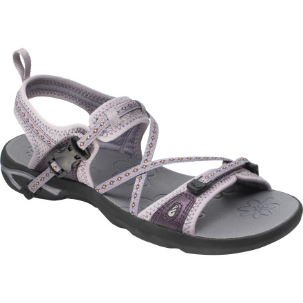 Entertainment Traverse riverbeds and rocky shores in comfort wearing the Ahnu Women's Inverness Sandal. Unlike some other technical sandals that can make you feel like you've strapped bricks to your feet, the Inverness provides cushioning and protection without weighing you down. - $76.46