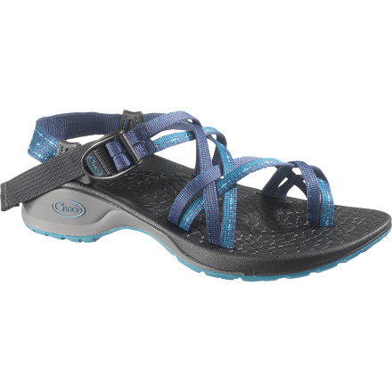 Entertainment The Chaco Women's Updraft X2 Sandal has all of the comfort and support features of the Updraft 2, with a slightly more fancy dual-strap design throughout. The feminine touch makes the Updraft X2 twice as versatile for your active and casual ventures, without sacrificing the support you need to spend days exploring in the woods or dancing in the grass at a summer festival. - $87.96