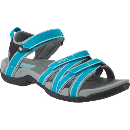 Entertainment Teva designed the Tirra Sandal for the well-traveled female who is looking for style and function in wet and dry climates. - $63.96