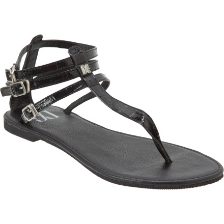 Entertainment Slide your feet into your DC Women's Georgina Sandals when you want the airy feel of flip-flops but you don't want to look like you just woke up. These sandals keep your feet happy and basking in the sun, and they still carry a refined, classy look that you can rock whether you are walking through the park or going out to dinner. - $16.00