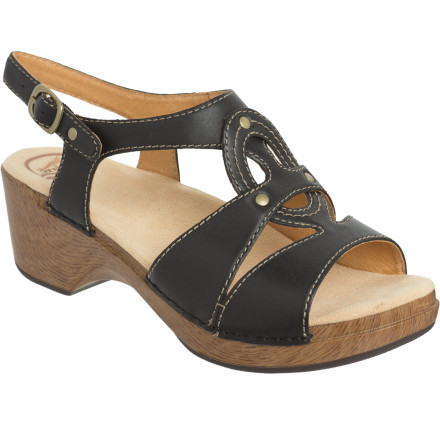 Entertainment The sophisticated Dansko Women's Sigrid Sandal boasts a truly individual style that combines contrast with functionality. Bold yet simple, the Sigrid shows a casual elegance that can only be achieved through confident design, one that disguises the comfort and durability of this smart sandal. - $68.97