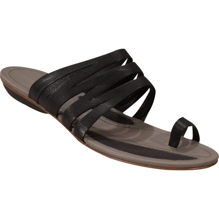 Entertainment The Patagonia Women's Bandha Slice Sandals make you feel as if you're the Queen of the Nile. Luxurious materials and style cover your feet as you stroll down the riverside or the boardwalk. - $90.00