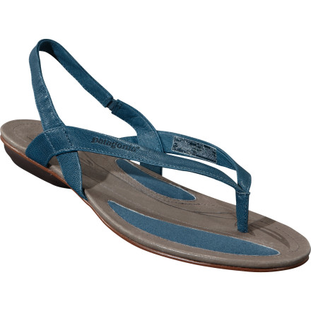 Entertainment Slide your feet into the Patagonia Women's Bandha Sling Sandal and get both the airy freedom of a strappy sandal and the supportive cushion of a well-built shoe. Patagonia gave this slingback sandal well-built soles and foot-pleasing materials so you get the look you want without sacrificing comfort. - $50.00