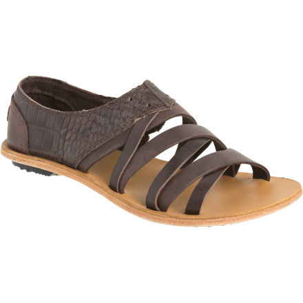 Entertainment Strappy sandal meets classic oxford in the Sorel Women's Lake Shoe Sandal. This unique sandal features a soft leather that molds to your foot as it softens. - $69.98
