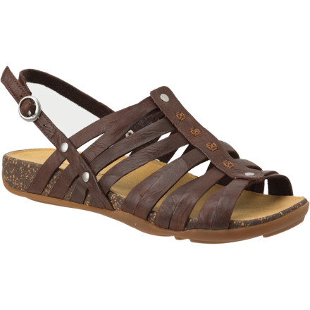 Entertainment It's not too often that you get top-quality, trail-inspired comfort and classy, urban-inspired looks; the Timberland Women's Earthkeepers BareStep Fisherman Sandal is that infrequent discovery. - $44.98