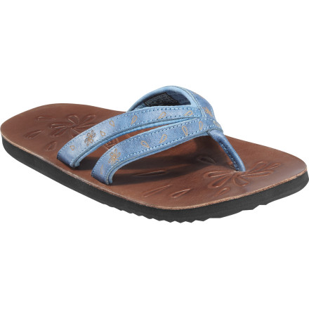 Surf Keen's Women's Florence II Sandal won't just add a splash of beach-worthy style to your wardrobe. An Aegis-treated footbed helps fight odor, which is handy since you'll rarely want to take off the Florence II. The style and durability of leather means you may want to treat this footwear with conditioner before taking any spills off the dock party to preserve the chic look. - $34.97
