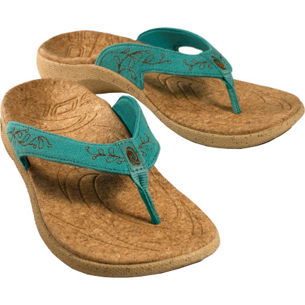 Surf You can't always be at the beach, but with the Sole Women's Casual Flip Sandal you can bring the beach with you. Keep your style clean, yet relaxed and nature-friendly with a combination of recycled polyester and hemp. A polygiene treatment helps fight odor buildup, which is a good thing since you probably won't want to wear any other footwear. - $55.27