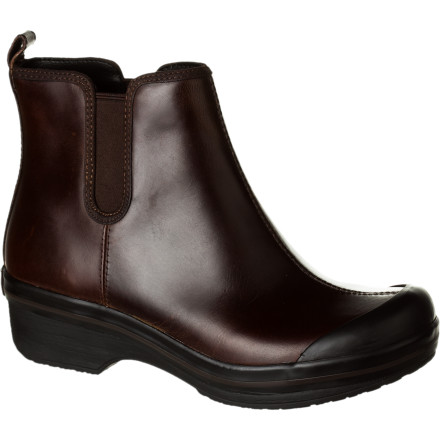 Little things mean a lot, like the added coverage of the Dansko Women's Vail Boot that extends to the ankle. Why should the foot get all the rich leathery fun' And of course it has all the supportive, flexible comfort that you know and love from Dansko, plus a non-slip rubber sole to keep you dry and upright on wet, slick days. - $77.97