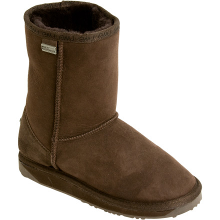 Taking the classic aprs boot style to the next level, the EMU Platinum Stinger Lo features luxurious Australian Borderlester/Merino sheepskin for the ultimate in softness and warmth. - $151.16