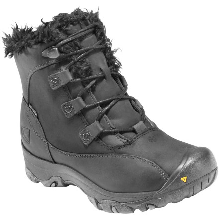Sometimes a tall, bulky winter boot just feels like too much, despite the cold days of December. Reach for the Keen Women's Bailey Low Boot and go light instead. Despite the low-cut shape, this boot packs enough insulation to shrug off the chill and a waterproof design that easily tackles slushy puddles. What more do you need' - $58.48