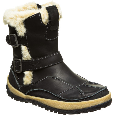 Ski You don't have to choose between warmth and looks. The Merrell Women's Taiga Buckle Waterproof Boots blend winter-proof tech with cutting edge fashion. Zip up in these far-north-inspired boots and rock ski-town streets and after-ski dinners in chic style. - $118.97