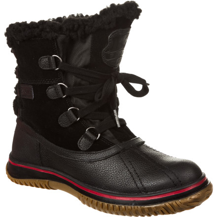 Even though snow and sleet are coming down in a torrent, you still have to make it to your class on the other side of campus. Slip on the Pajar Canada Women's Iceland Boot for warmth and weather protection that doesn't compromise on style. The full grain leather upper keeps out the wet while the soft wool collar keeps your foot toasty warm. - $89.97