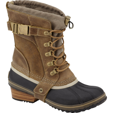 Surf Winter just got a whole lot sexier thanks to the Sorel Women's Conquest Carly Short Boots. These sassy little boots will make you forget about the fun of wearing a bikini as they carry you through the snow in style. - $157.21