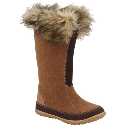 Ski The Sorel Women's Cozy Joan Boots take winter boots into the world of fashion with a bold lace overlay that contrasts with a warm, cozy shearling trim. These boots are sure to get noticed whether you're being rushed into the VIP entrance of a film-festival premier or grabbing drinks after a day of skiing. - $77.97