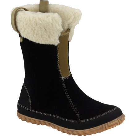 Just the right height and chockful of comfy style, the Sorel Women's Cozy Bou Boot looks like a winter's dream. With washable recycled felt upper, stretchy shaft, removable molded footbed, and toasty-warm, moisture-wicking insulation, this dream is starting to make abundant sense. Now for guilt-free realization. - $65.97