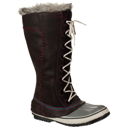 Ski The Sorel Women's Cate The Great  Deco Boot has a classic look that is perfect for after-ski parties when you need a hot look, but you know better than to try and wear heels through the snow. - $104.98