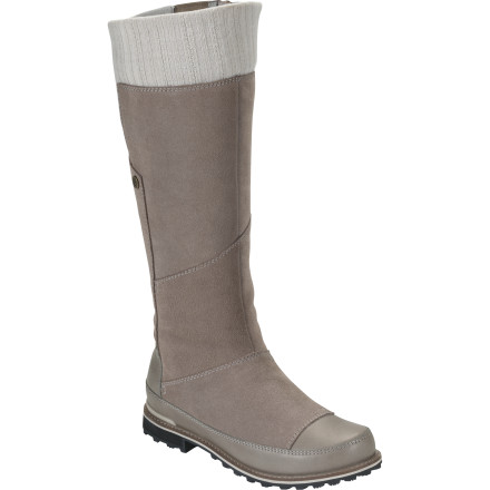 Give your foot the love, comfort, support, and warmth it so deserves during the snowy winter months with The North Face Women's Snowtropolis Tall Boot. Thanks to its waterproof construction and taped seams, the Snowtropolis doesn't even flinch at the sight of slushy, snow-filled, or icy pathways. And because of its rugged, durable outsole with IcePick lugs, you're able to confidently walk down snowpacked walkways or sketchy terrain. - $99.98