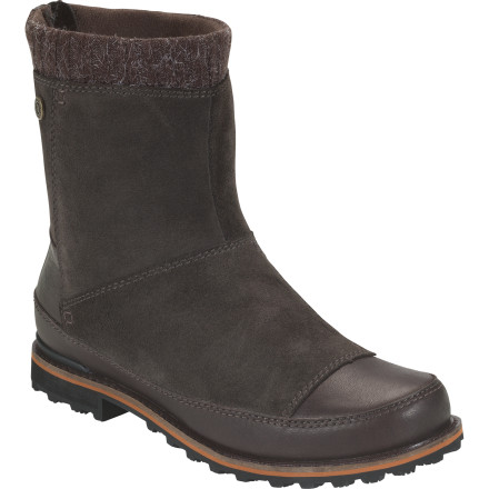 Slip on The North Face Women's Snowtropolis Mid Boot and enjoy the mountain town's Mardi Gras festivities. Thanks to this waterproof, mid-cut boot, you have no problem tromping on snow-packed trails, enjoying snow-flurry-filled window-shopping, or sledding with friends. - $107.97