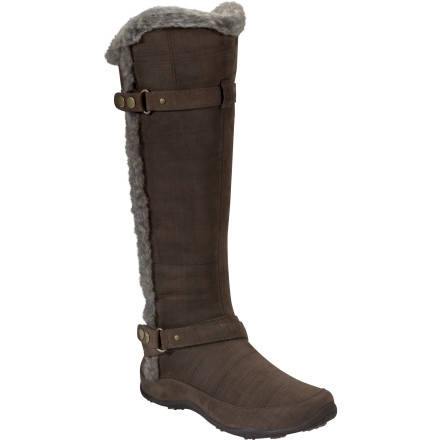 Some gals aren't too stoked on colder temperatures, but you're really looking forward to them, especially since you have The North Face Women's Brianna II Boot to wear. This cozy, knee-high boot fits easily over your skinny jeans, leggings, or tights to give you a stylish, fashion-forward look during the chilly months. - $131.97