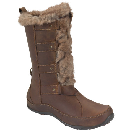 You may not be a movie star, but you sure look like one when you wear The North Face Women's Abby IV Luxe Boot. Insulation and a waterproof construction make sure you don't have to pay for the VIP style, either. - $110.97