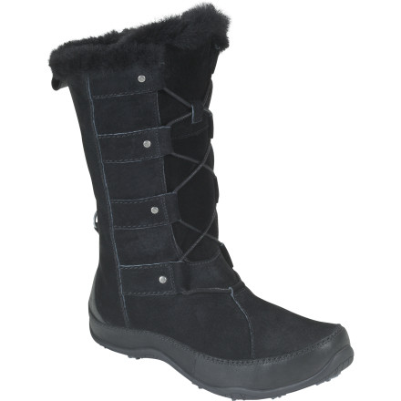 The North Face Women's Abby IV Boot gives you both the waterproof protection and stylish appearance you've been looking for to confidently trudge through the snowy, cold winter months. - $139.96