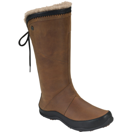 Fitness When you slide your foot into The North Face Women's Janey II Luxe Boot, you'll embrace the cold, wintery world without the faintest hesitation. The Janey II Luxe packs insulation, comfort, and clean style while you stroll around the mountain village, run errands, or check out the tree lighting. - $104.97