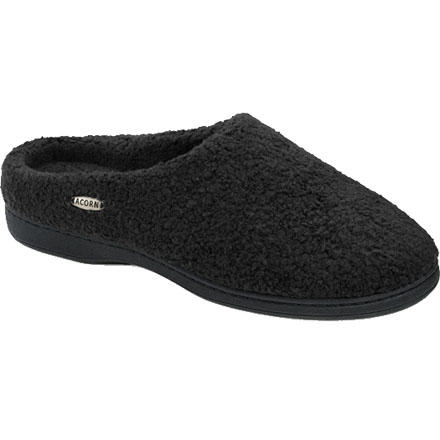 Entertainment After a long day of hiking or snowshoeing, take a long shower, and then slip on the Acorn Women's Nex Tex Clogs. Acorn made these fuzzy clogs from faux fleece that not only feels cozy against your toes but also wicks moisture, so your feet don't get coated in sweat. A contoured footbed cushions your foot and provides arch and heel support for those occasional days when you get to wear your slippers from breakfast time to dinner time. A weatherproof outsole gives you solid footing on both your slick kitchen floor and patio alike. - $26.97