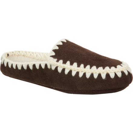 Entertainment Whether you find yourself in the studio spinning clay or lounging around the house, be sure to have the comfy Acorn Women's Annika Mule Slippers on your feet. - $38.97