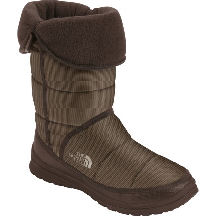 Fitness When you need to trudge over to the coffee shop for an afternoon pick-me-up or zip over to the dog park to let your puppy run free for an hour or so, pull on The North Face Amore Boots. - $47.48