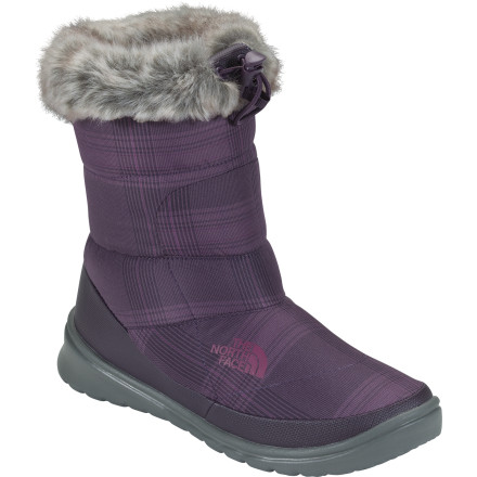 The North Face Women's Nuptse Bootie Fur IV makes it that much easier to leave your toasty apartment and venture out into the winter wonderland. - $53.97