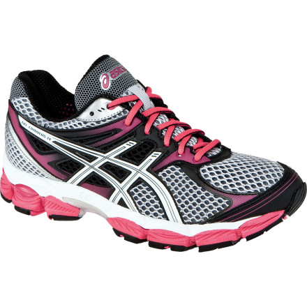 Fitness Running shoe uppers are getting increasingly sophisticated and comfortable, and the Asics Women's GEL-Cumulus 14 Running Shoe is right on-trend. Lighter by a half-ounce and more breathable than ever, the Cumulus 14 is ideal for under-pronators to mild over-pronators with high to normal arches. - $76.97