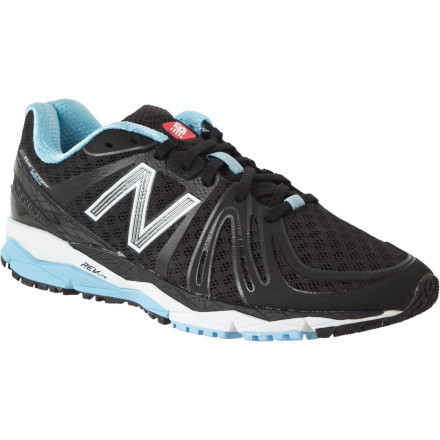 Fitness With enough cushioning to prevent soreness during long runs, the neutral New Balance Women's W890v2 Running Shoe connects you to the road without sacrificing the essential support and shock absorption that keep your foot healthy. - $71.47