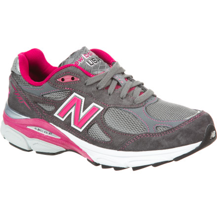 Fitness For solid cushioning off of the couch, try the New Balance Women's 990V3 Running Shoe. This shoe's stable Absorb insert and cushiony Encap midsole help get you back into your running regimen, while the neutral support lets your foot guide itself naturally throughout your stride. With the Grey-Pink colorway (depending on availability), you can help to spread the loving mission of the Susan G. Komen for the Cure Foundation. - $149.95