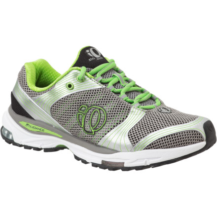 Fitness Born for the road but capable of tackling uneven mountain trails, the Pearl Izumi Women's Iso Shift Running Shoe brings race-day-worthy stability with a SKYDEX heel insert and Energy Cell cushioning. For comfort, the Iso Shift features a highly ventilated upper and an Ortholite cushioned insole. - $53.98