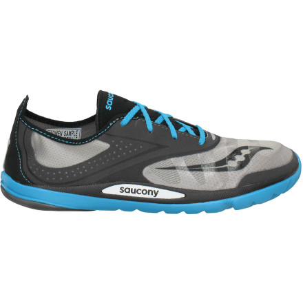 Fitness The minimalist design and ridiculously low weight (four ounces!) of the Saucony Women's Hattori LC Running Shoe make it hard for the dedicated 'barefoot' running to resist its allure. Go ahead, give in to its zero-drop, lightly cushioned charms. - $89.95