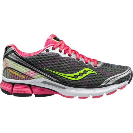 Fitness Saucony gave the Women's PowerGrid Triumph 10 Running Shoe a sleek new look by converting the overlays to underlays but kept the supportive fit the same. Light, more flexible, and even more comfortably cushioned thanks to the decoupled heel, the Triumph 10 is a big win for neutral runners. - $129.95