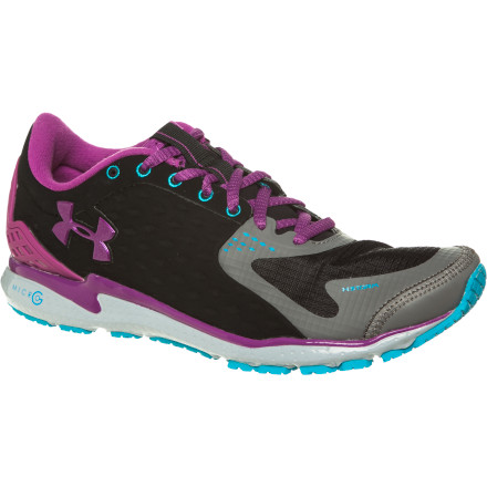Fitness Float through your run while you're wearing the Under Armour Women's UA Micro G Storm Running Shoe. Micro G cushioning technology absorbs the impact of your foot strike to smooth out the road, and Storm technology means that this shoe features a water-repellent coating that keeps your toes dry when the rain falls. All you really need to know about this shoe though' It's feather-light and designed to help you move faster, longer. - $29.99
