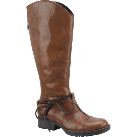 Ski The Born Women's Shyra Boots gently blend high-quality craftsmanship, fashion, and function to keep your feet comfortable and looking great. Whether you're walking from your hotel to your favorite ski-town restaurant or running to nab a seat at a fall fashion show, these boots will get you there in style. - $104.98