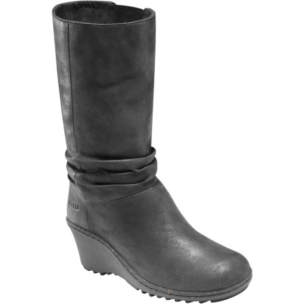 Entertainment Tall yet slouchy, elegant but never snobby, the KEEN Women's Akita Mid Boot is ready to embrace contradiction and maybe a little bit of danger. Besides, there's free wine at the downtown gallery stroll tonight for those who are dressed to impress. - $79.83