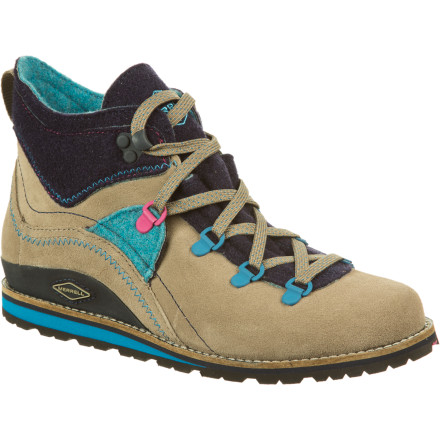 Camp and Hike The Merrell Women's Lazer Mid Origins Boots bring a modern playfulness to the world of hiking shoes. Whether you rock these mid-rise boots around town or on a weekend hike around the lake, these shoes will keep your feet happy while they indulge your craving for great style. - $71.97